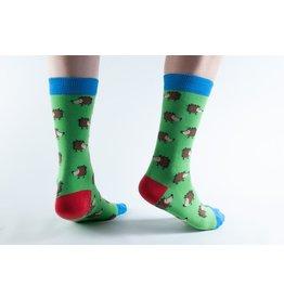 Doris & Dude Socks - hedgehogs (36-40)