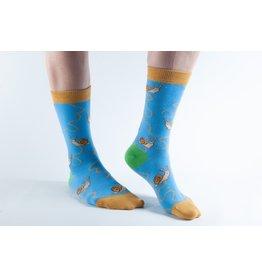 Doris & Dude Socks - slugs (36-40)