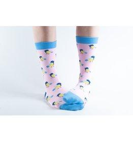Doris & Dude Socks - birds (36-40)