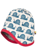 loud+proud Children's hat - grey with snails
