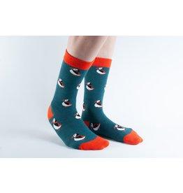 Doris & Dude Socks - puffins (41-45)