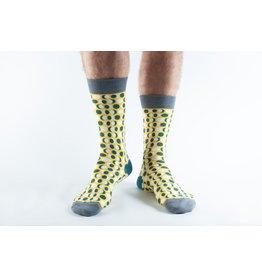 Doris & Dude Socks - yellow moon (41-45)