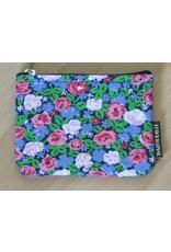 Huisteil Kleine vintage portemonnee - kleine bloemetjes