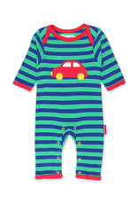 Toby Tiger Baby jumpsuit - auto