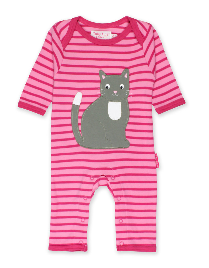 Toby Tiger Baby jumpsuit - cat