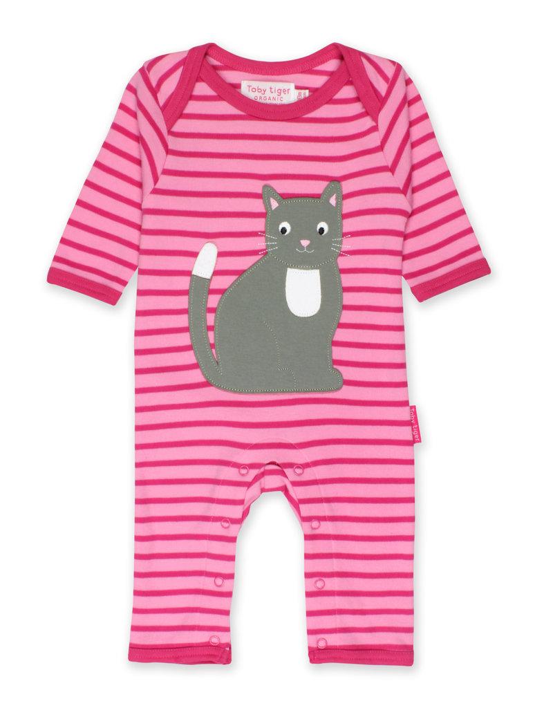 Toby Tiger Baby jumpsuit - cat
