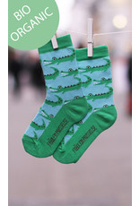 Fräulein Prusselise Children's socks - crocodile