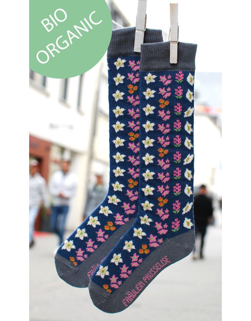 Fräulein Prusselise Knee socks - Retro flowers
