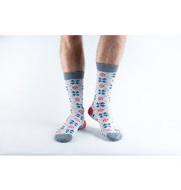 Doris & Dude Kerst sokken - sneeuwvlok (36-40)