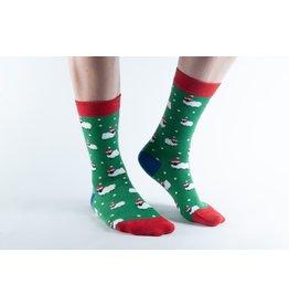 Doris & Dude Kerst sokken -schaapjes (41-45)