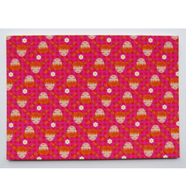 Pippi Langkous Pippi Longstocking card - pink!