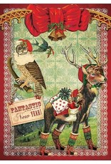 Christmas card - fantastic new  year