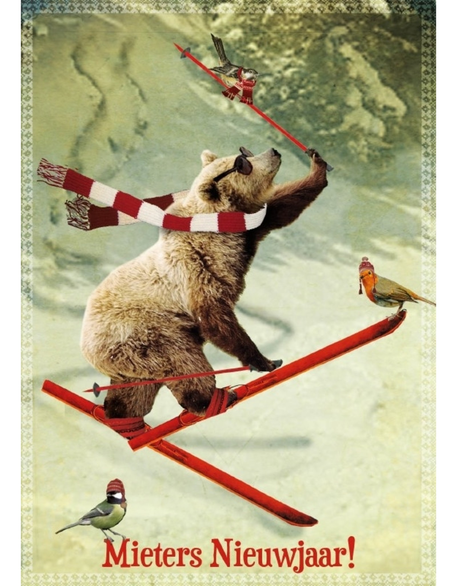 Christmas card - great new year