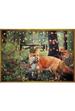 Christmas card - christmas fox