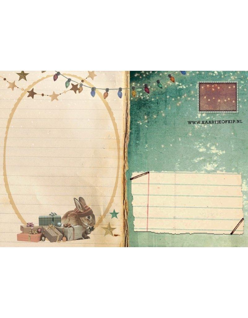 Christmas card - christmas group