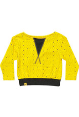 Albababy Kinder sweater - Fenja yellow triangle