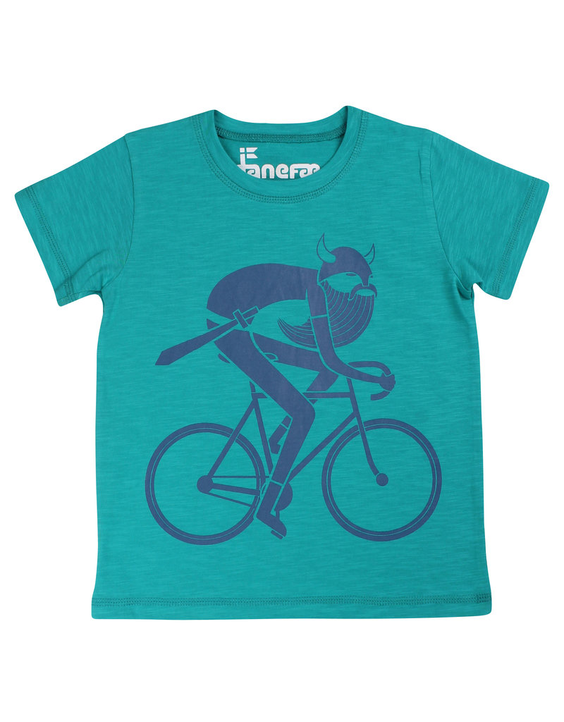 Danefae Kinder t-shirt - turquoise viking