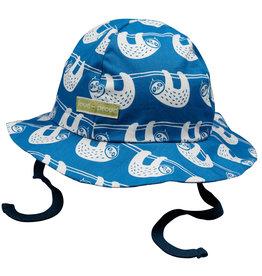 loud+proud Kinder zomerhoedje - blauwe luiaards