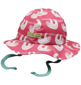 loud+proud Children's summerhat - pink sloths