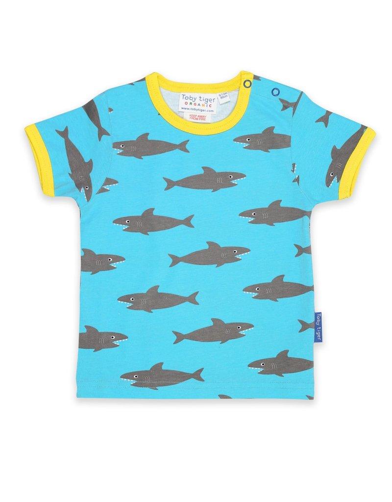 Toby Tiger Kids t-shirt - sharks !