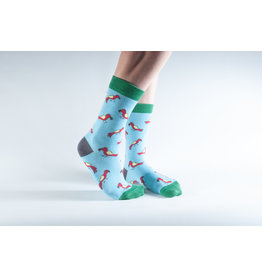 Doris & Dude Socks - parrots (36-40)