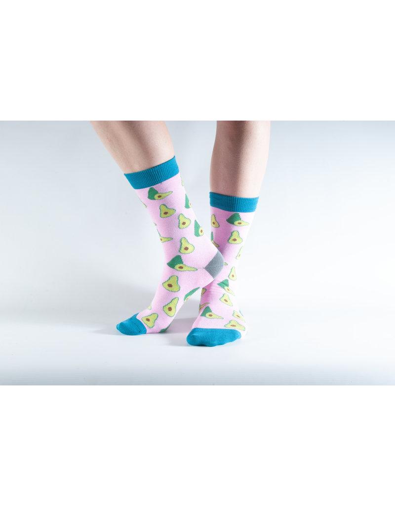 Doris & Dude Socks - avocado (36-40)