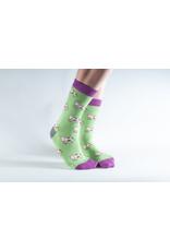 Doris & Dude Socks - cows (36-40)