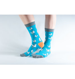 Doris & Dude Socks - seagull (36-40)