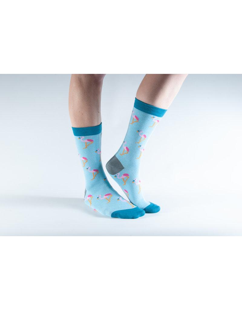 Doris & Dude Socks - flamingo (36-40)