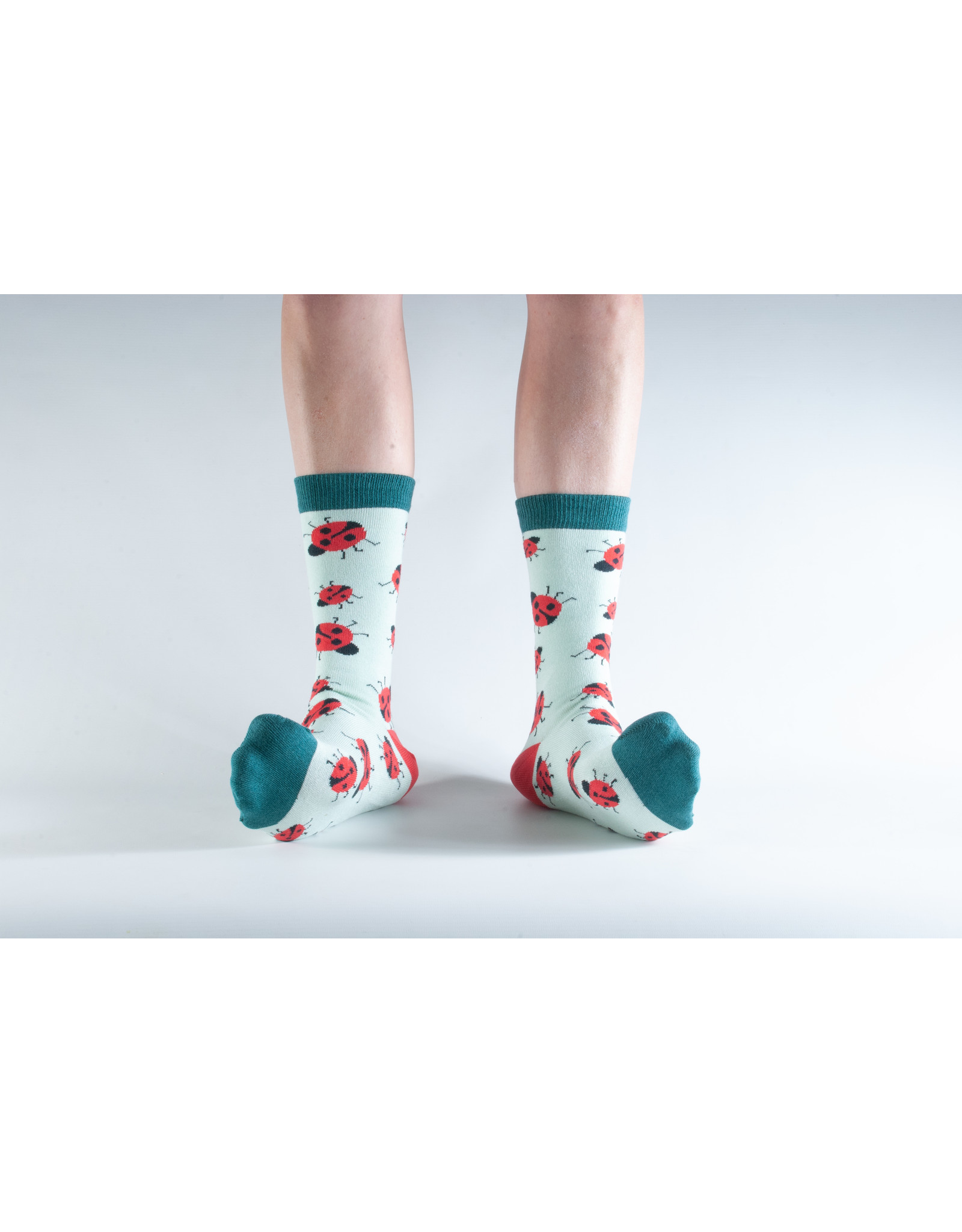 Doris & Dude Socks - ladybugs (36-40)