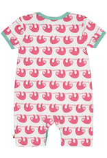 loud+proud Baby zomerpakje - roze luiaards