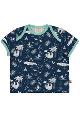 loud+proud Kids t-shirt - crocodiles and sloths