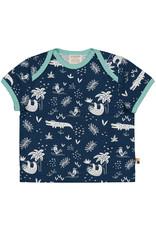 loud+proud Kinder t-shirt - luiaarden en krokodillen