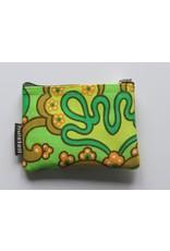 Huisteil Kleine vintage portemonnee - groen
