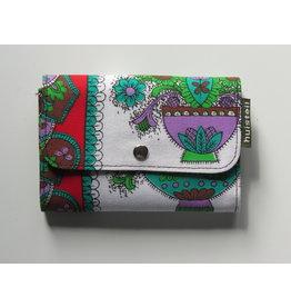 Huisteil Kleine retro portemonnee - boeket