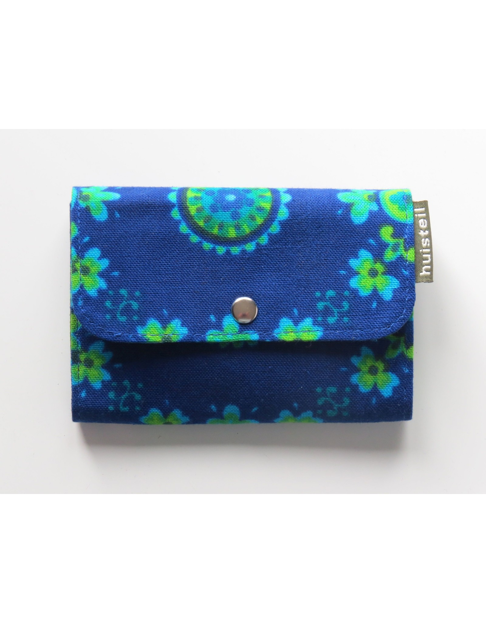 Huisteil Small retro purse - blue vintage