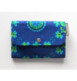 Huisteil Small retro purse - blue vintage