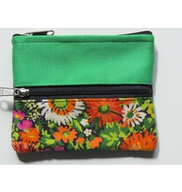 Huisteil Small vintage purse - green