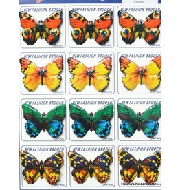Vintage butterfly brooches (price per 12)