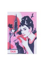 3d card - Audrey Hepburn
