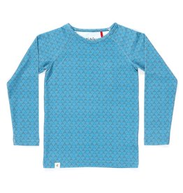 Albababy Alba kinder blouse - hannibal blouse blue