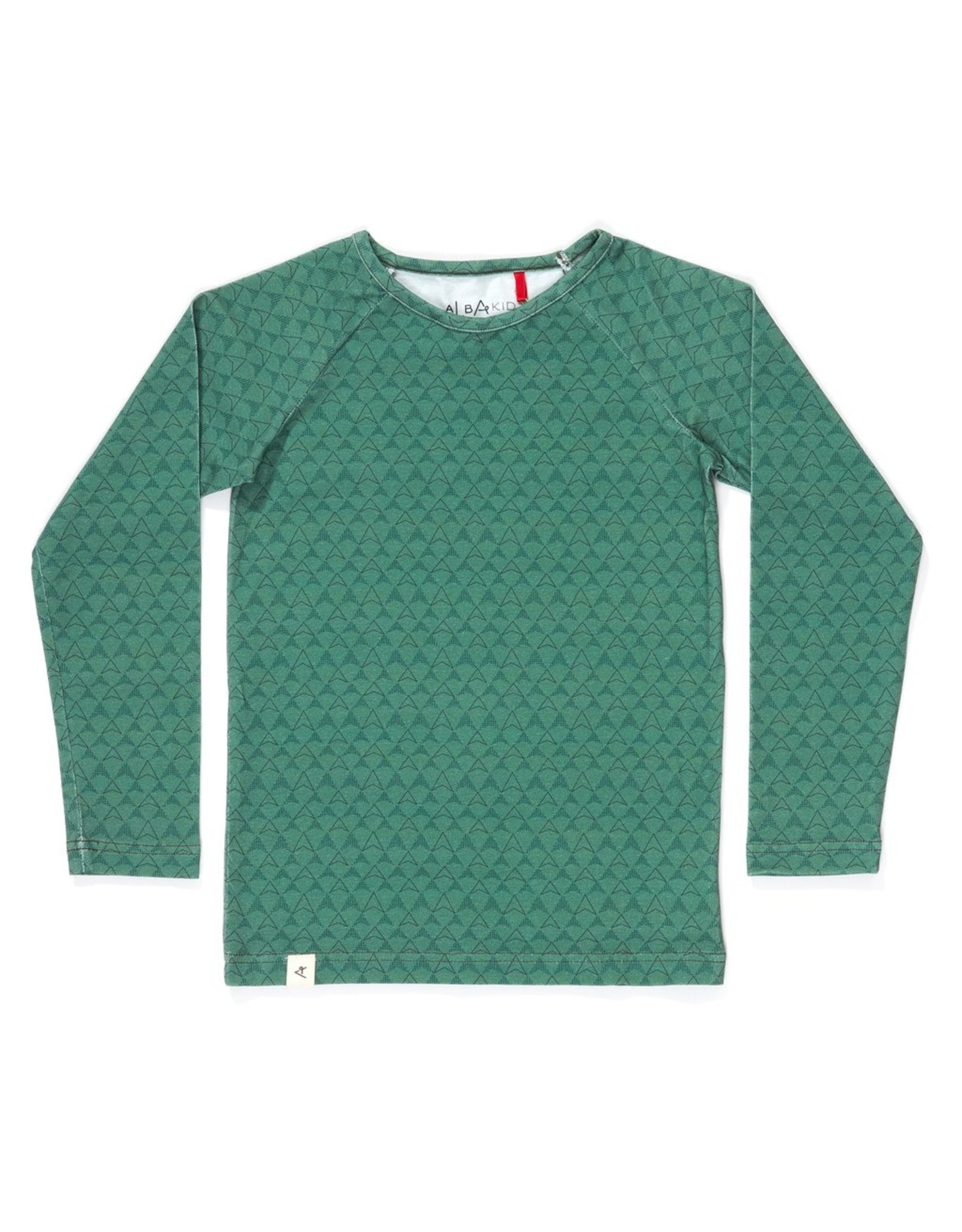 Albababy Alba children's blouse - hannibal blouse green