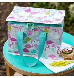 Rex London Kinder lunch tas - flamingo's