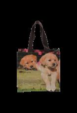 Esschert design Kinder boodschappen tas - puppies