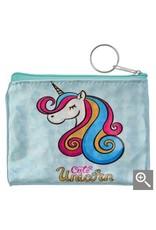 Clayre & Eef Children's wallet - blue unicorn