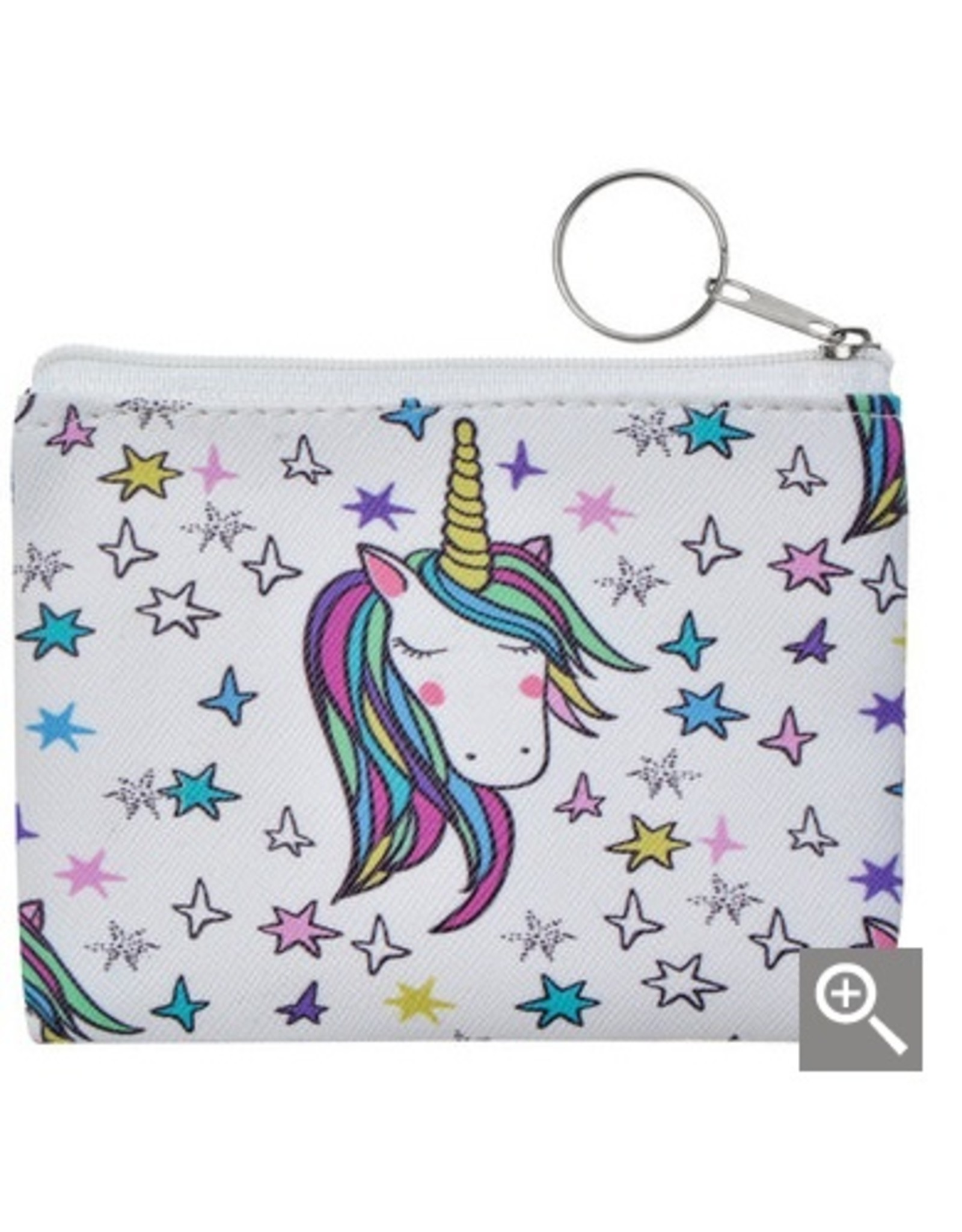 Clayre & Eef Children's wallet - creme unicorn