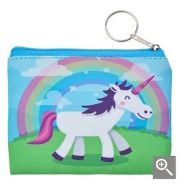Clayre & Eef Children's wallet - rainbow unicorn