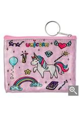 Clayre & Eef Kinder portemonnee - roze eenhoorn