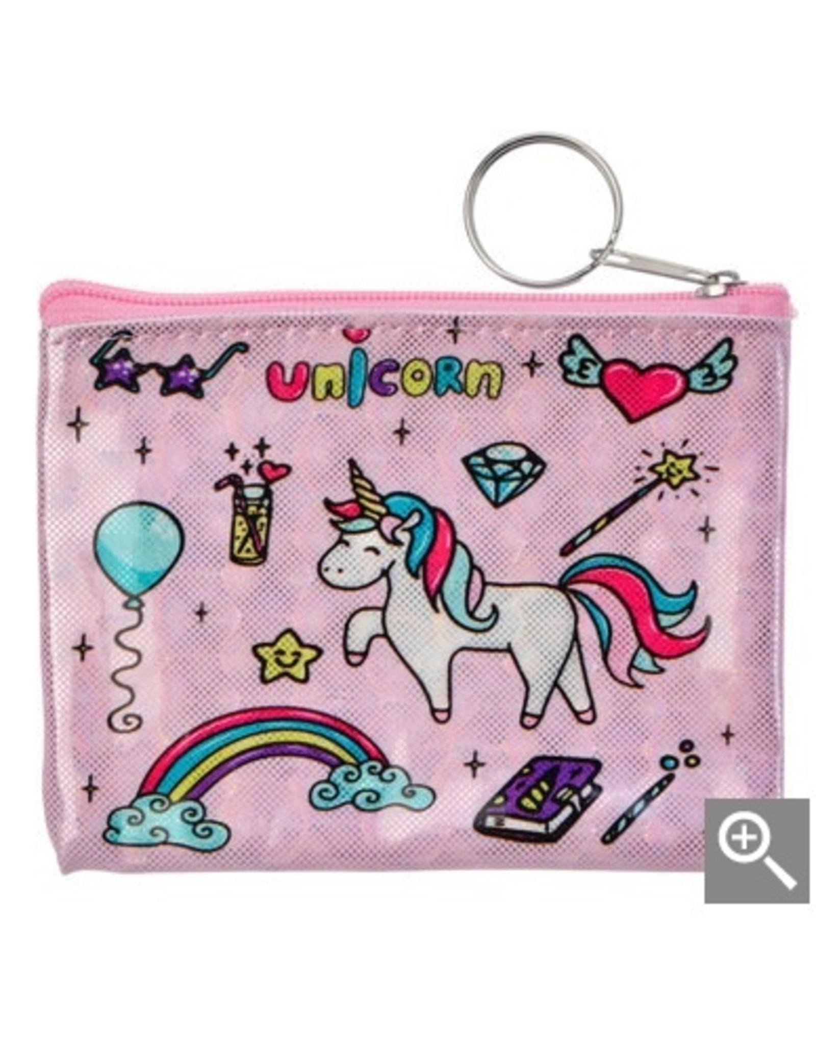 Clayre & Eef Children's wallet - pink unicorn