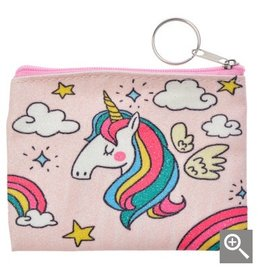 Clayre & Eef Children's wallet - pink unicorn